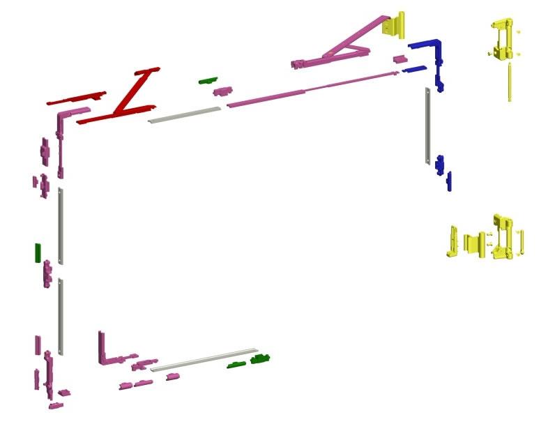 Savio - RIBANTATRE per R 40, R 50 TT barra continua e New Tec
