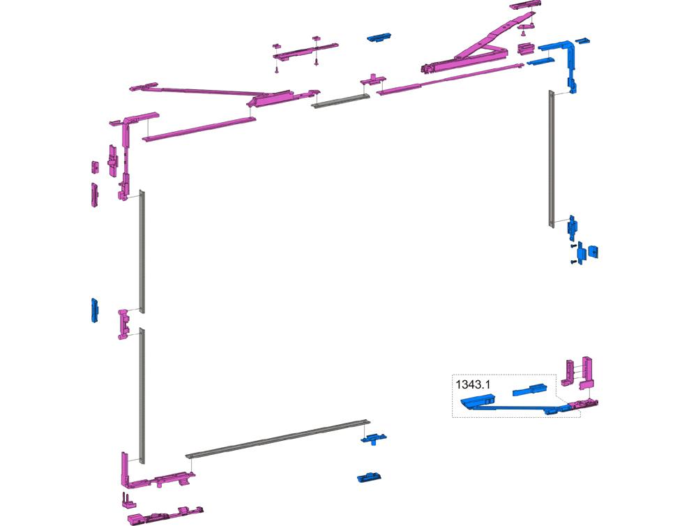 Savio - RIBANTATRE para perfiles con luz de 31.5 mm - MANIOBRA LÓGICA